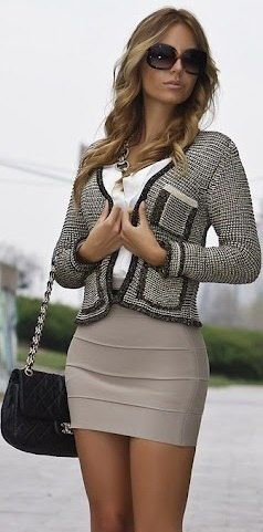 I like getting inspiration from outfits like this. But I would never actually wear this outfit.