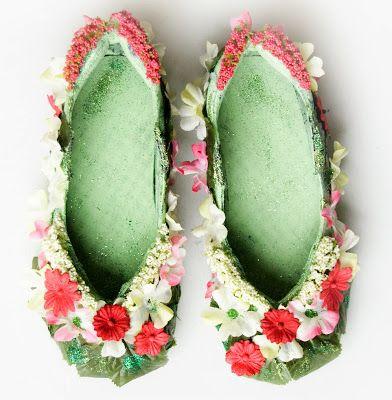 Tutorial para hacer Zapatos de Hada (para usar).