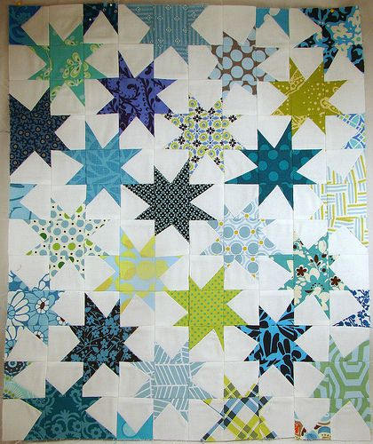 made using Sparkle Punch Quilt Along directions