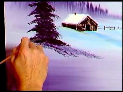 Боб Росс - Учимся рисовать фиолетовым оттенком (4 сезон)