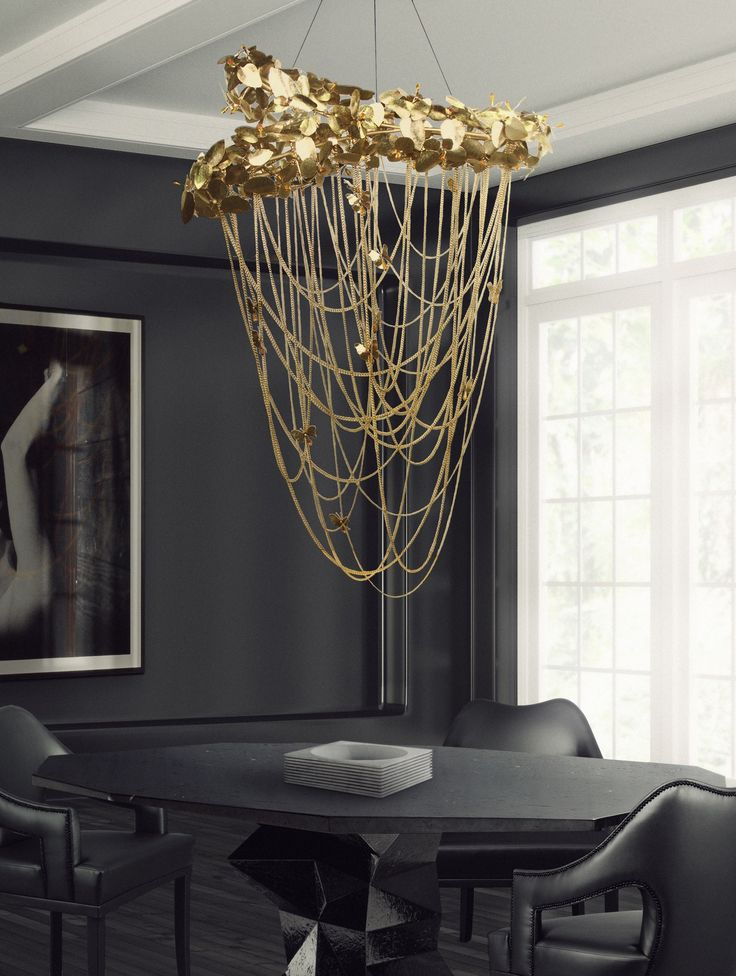 To complete the setting the interior designer selected a few pieces of luxxus lighting collection