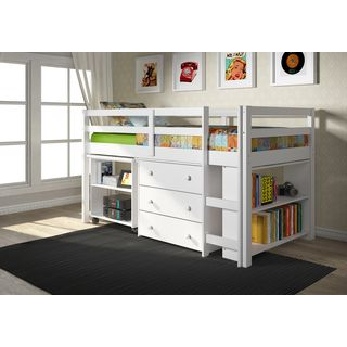 Black Twin 6-drawer Captain's Platform Storage Bed | Overstock.com Shopping - The Best Deals on Kids' Storage