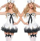 New Halloween Costume Uniform Sailor Cosplay Xmas Sexy Mini Dress Hat Outfit 12N - http://cheapcosplay.com/cosplay-costumes/sailor-cosplay