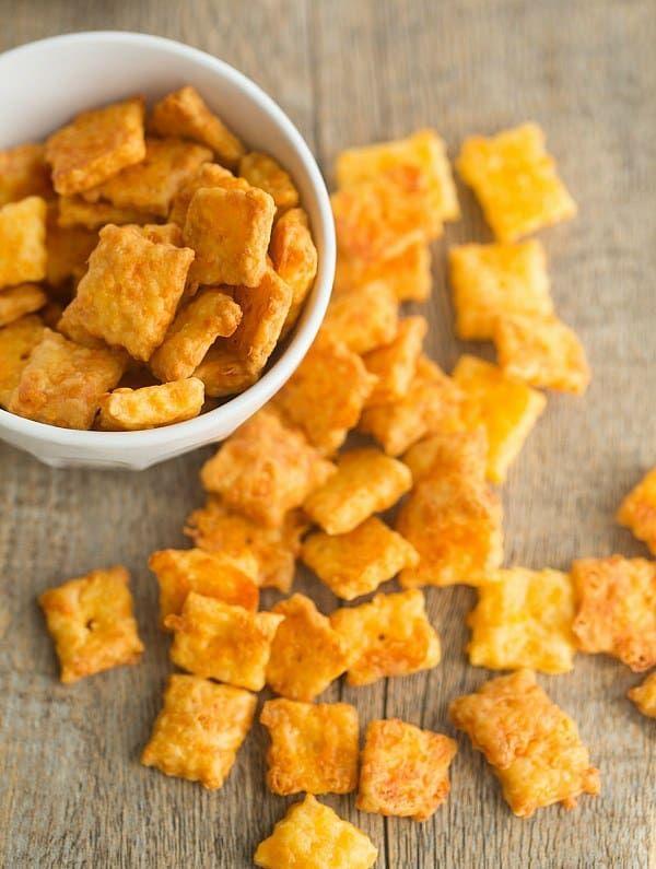 Homemade Cheez Its Recipe Recipe Homemade Cheez Its Homemade Snacks Cheez It Recipe
