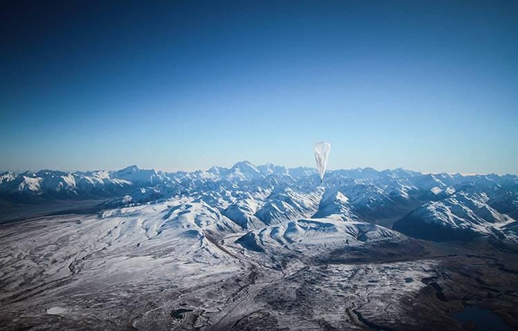 Google unveils its Project Loon Wi-Fi balloons - in pictures