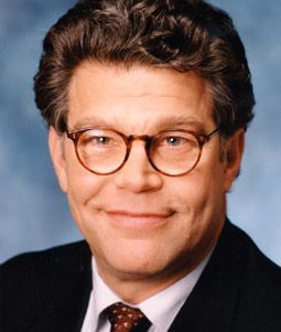 Al Franken, for his ability to communicate -- to make the complicated more easily understandable. Note: Minnesota State Fair discussion for civility, and also his clever videos drawing diagrams to explain weighty issues.