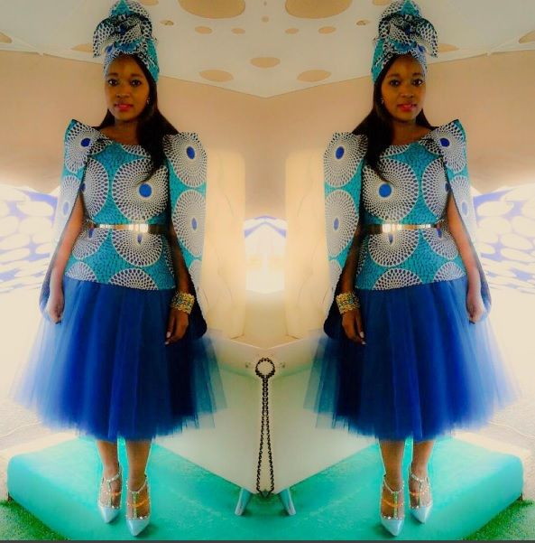 <3 Designed by Nhlanhla Nciza love her styles and the fact that she…