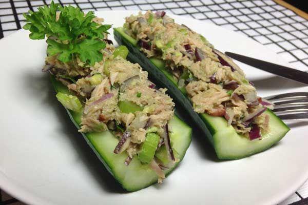 Thunfischboote: Gurke statt Sandwich