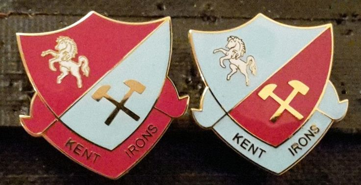 West Ham Utd Supporters Club Kent Irons Set