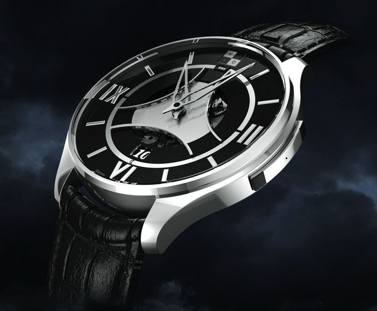 """VCXO Ox One """"Magic Button"""" Mechanical Watch With GPS Time Synchronization - read more about this unique watch, and see the video on aBlogtoWatch.com """"The VCXO Ox One is a bold new concept from a young Geneva-based brand which offers a rather unique bond between GPS technology and mechanical movements..."""""""