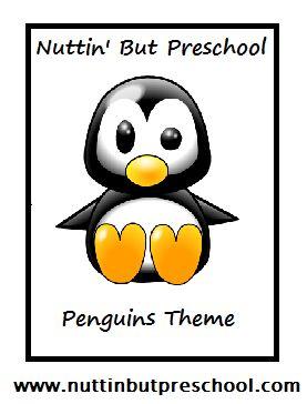 Penguin Lesson Plan Theme from Nuttin' But Preschool