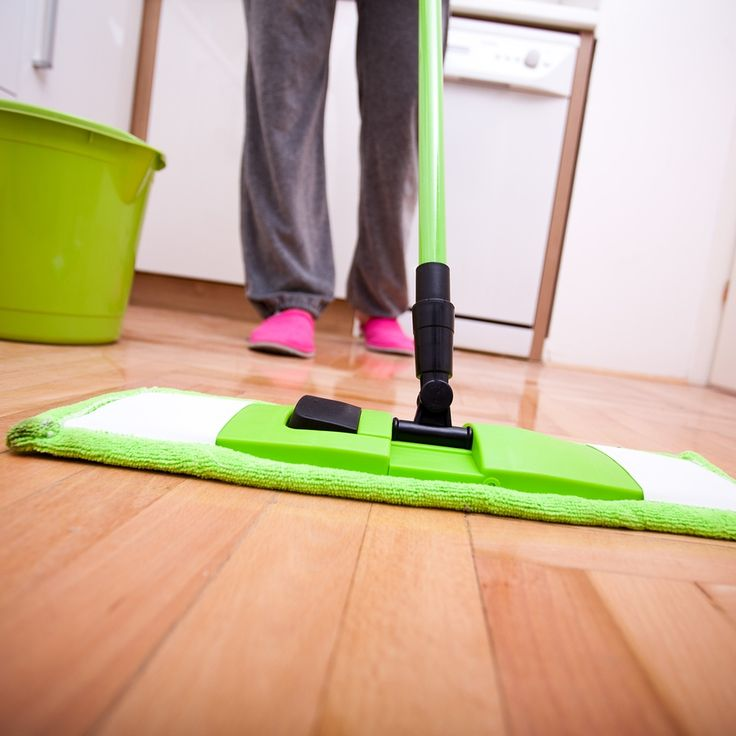 Easy Way To Mop Kitchen Floor