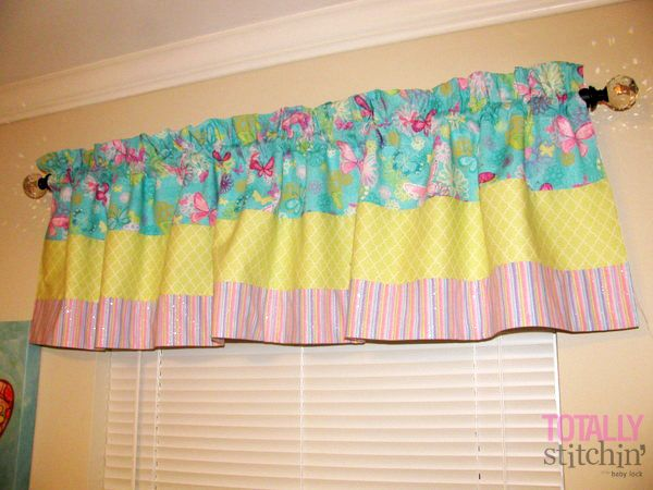 Easy Piece-y Valance Tutorial