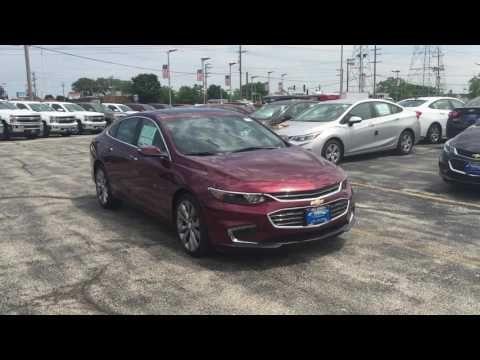2016 Chevy Malibu for sale : Bill Stasek Chevrolet : Serving Palatine, IL - YouTube