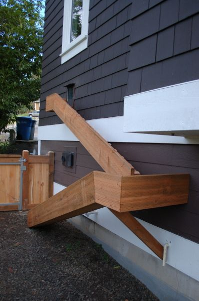 Doggie door and ramp this is the best idea ever except the dogs want would need…