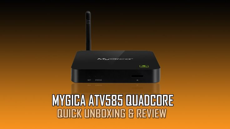 MyGica ATV585 QuadCore Android Quick Unboxing And Review