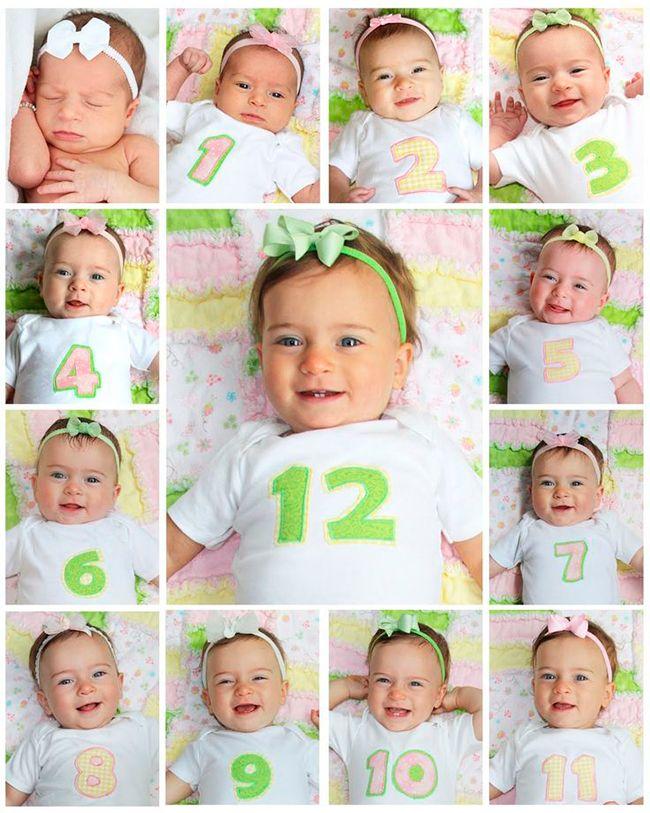 fotos primeiro ano bebe
