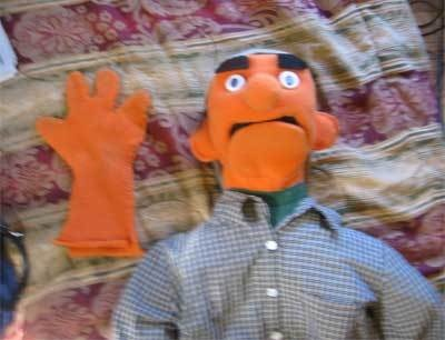 How to make a muppet-style puppet.