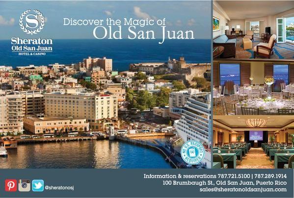 Es una ciudad. Se llama San Juan. Es modern y antiqua.