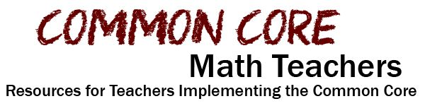 Common Core Math Teachers - Resources for implementing Common Core math.