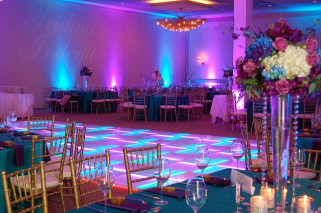 USA Dance Floor provides the thinnest and most popular LED floor in America.