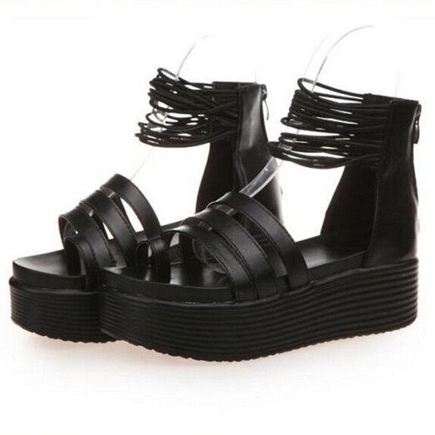 Купить товарЛето платформа для женщины в обувь липучка открытый носок сандалии женское толстый пятки платформа клинья платформа женщины в обувь в категории Сандалиина AliExpress. Best Selling DROPSHIPPING New Arrival 2015 Fashion Super Women High Heel 12.5CM Platform Wedge Sandals Colorful Rainbow