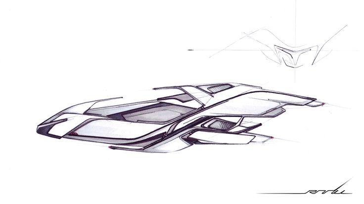 Aircraft Concept © Sergiu Radu Pop