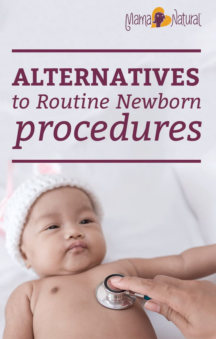 Want to raise a natural baby? There are lots of decisions to make. Find out which routine newborn procedures are needed, and which you can skip. http://www.mamanatural.com/routine-newborn-procedures/