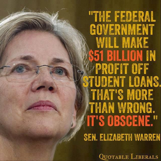 Disgusting is correct!! Big Banks pay less in interest to the govt than students....thx the greedy corrupt GOP for that, helping the 1%+ themselves fleece the people!!