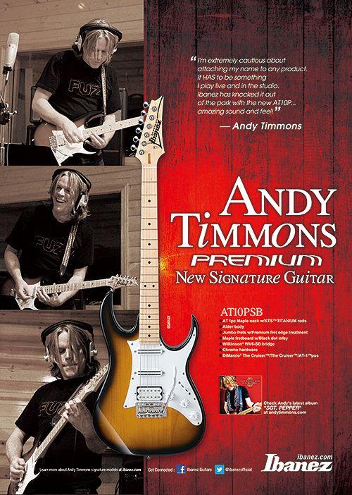 #Ibanez Andy Timmons Signature AT10PSB Premium #Guitar