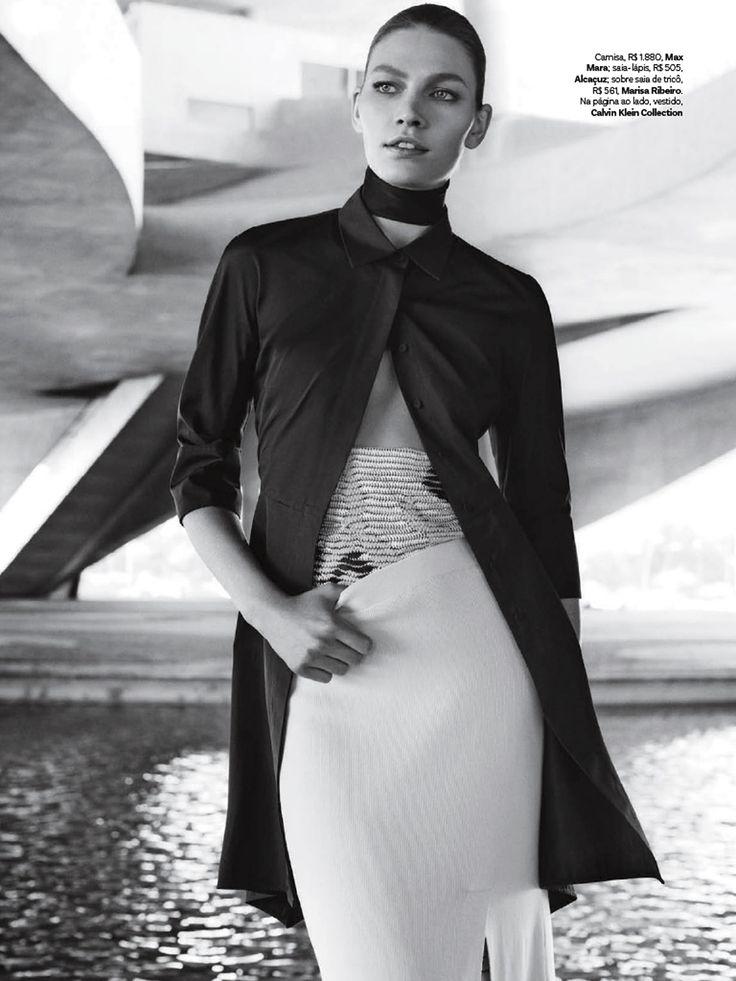 Vogue Brasil Novembro 2014 | Aline Weber por Giampaolo Sgura [Editorial]
