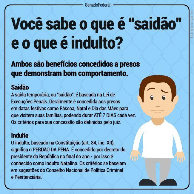 Saidão X indulto.