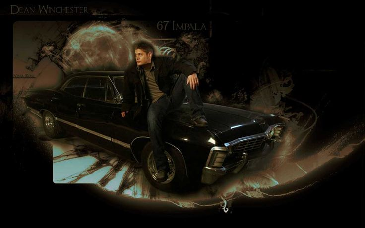 supernatural car impala wallpaper - photo #40