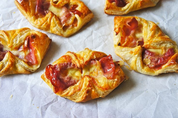 Ham and Cheese Croissants...could eat these any time of day