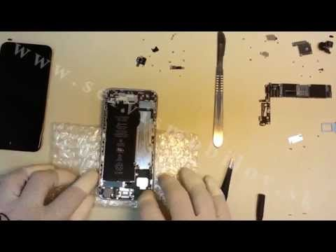 iPhone 6 - Rozobratie / Disassembly - YouTube