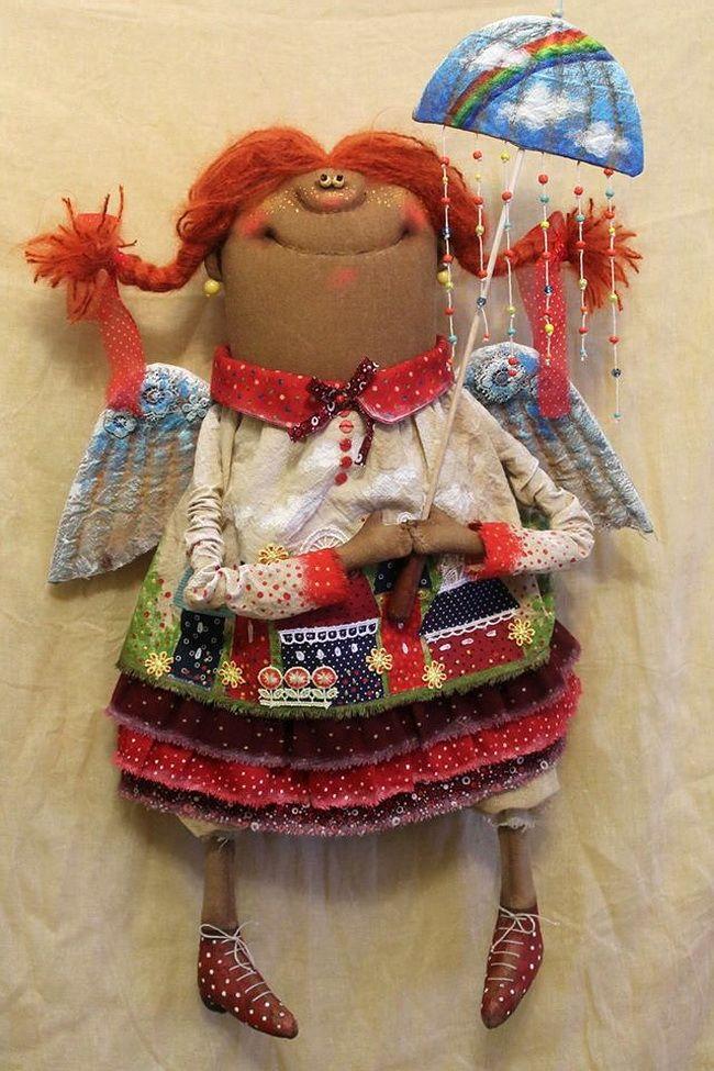 Восторг! Яркое творчество Татьяны Козыревой: авторская кукла