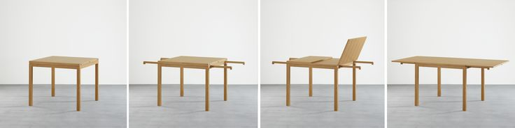 'Extendable' dining table by J+J Studio