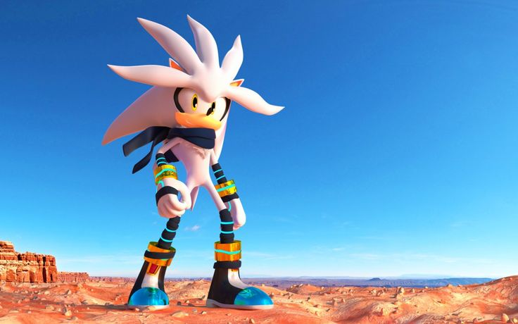 If only they could put him in Sonic Boom. I don't know why they don't ... :(