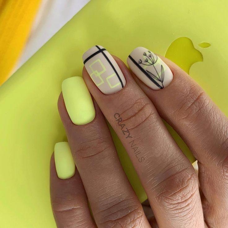 Картинки ногти летние легко и быстро
