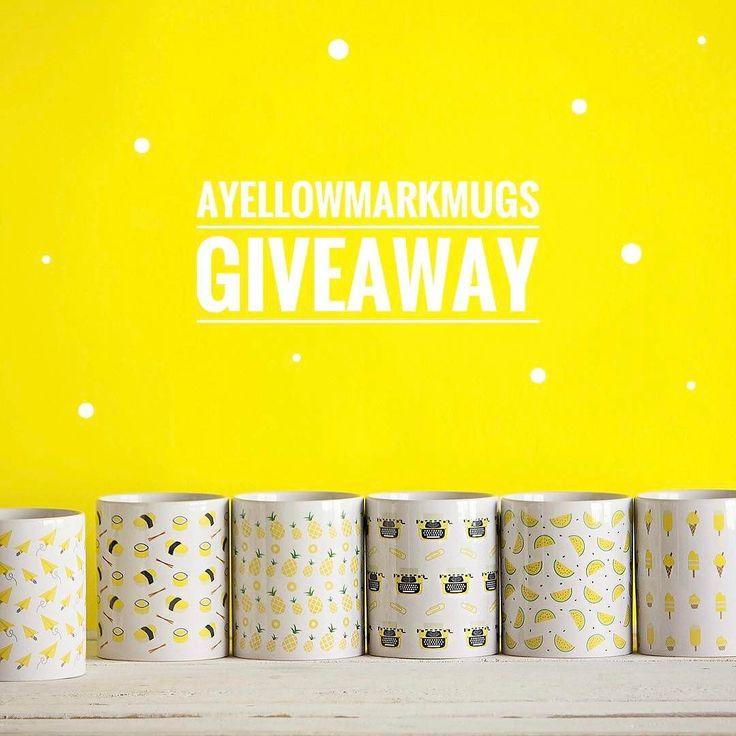 GIVEAWAY   Ti piacciono le Ayellowmark Mugs?  Puoi vincerne una e scegliere quella che preferisci dal sito!   Tutto quello che devi fare è condividere questa foto sul tuo profilo Instagram usando lhashtag #Ayellowmark e #AyellowmarkMugs e taggare il profilo di @Ayellowmark sul post condiviso. [Giveaway valido solo per chi risiede in Italia]  Il vincitore sarà annunciato il 31 Maggio attraverso le Instagram Stories e sulla pagina Facebook ufficiale di Ayellowmark…