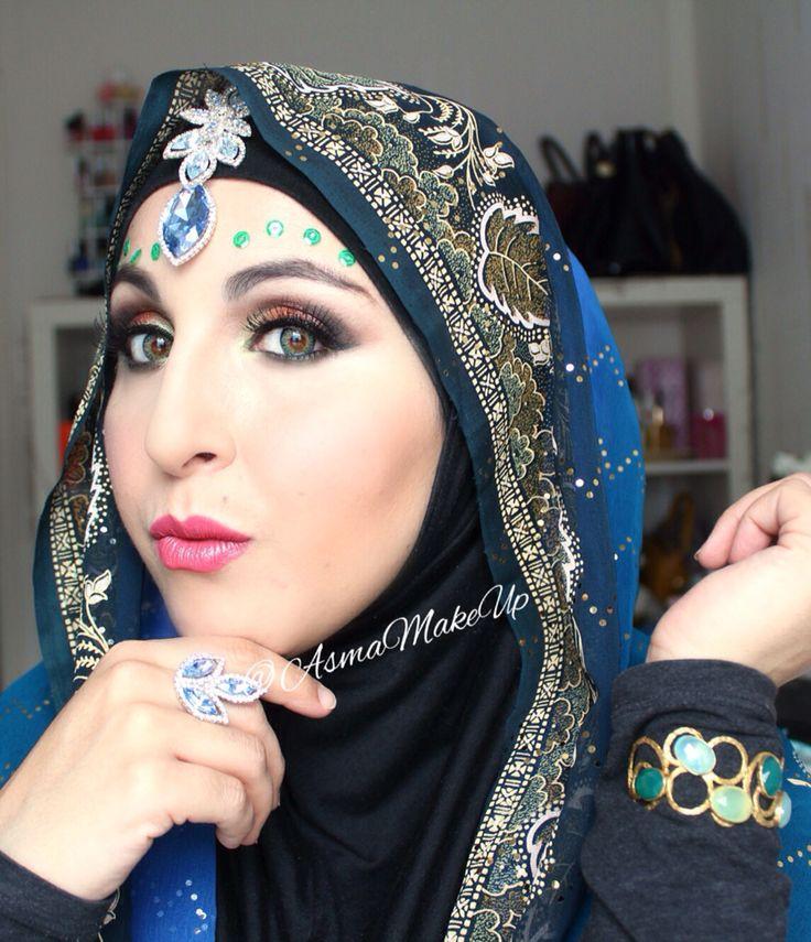 Bollywood inspired make up