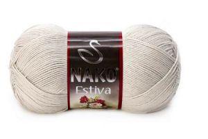 włóczka Nako Estiva z bambusem -  linen