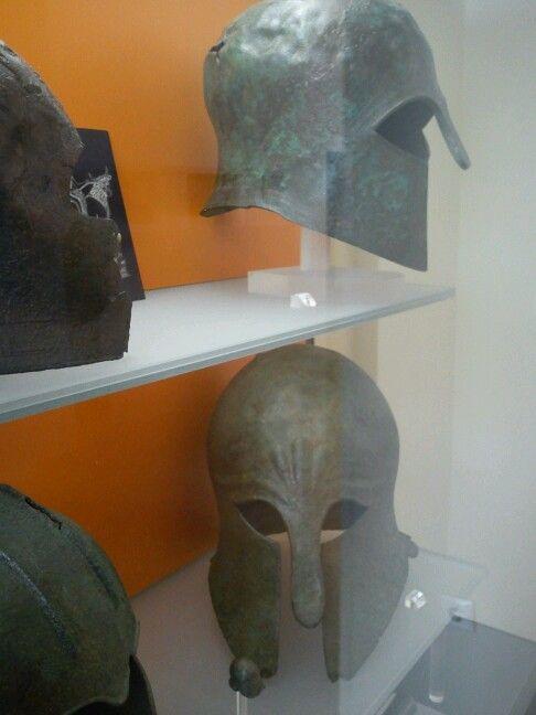 Greek Helmet -delphi greece