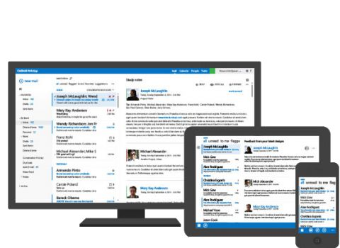 Cloud hosted enterprise level Microsoft Exchange 2013 email messaging and Microsoft Lync 2013 collaboration services from just £1.99 per month.