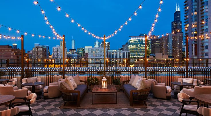 Very hip place to stay, spa, and obviously drink on the roof. Soho House Chicago | Home