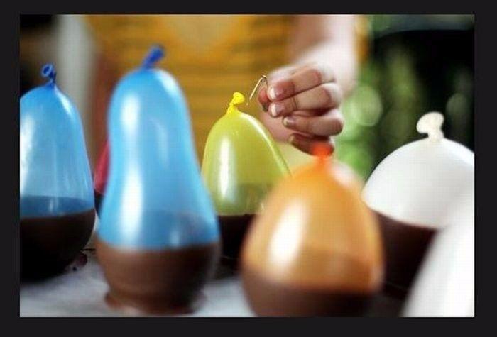 Шоколадные стаканчики