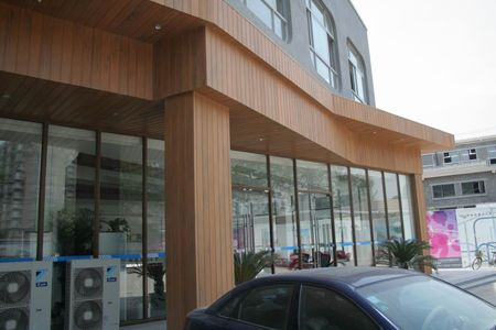 Wood Plastic Composite Wall Cladding in India