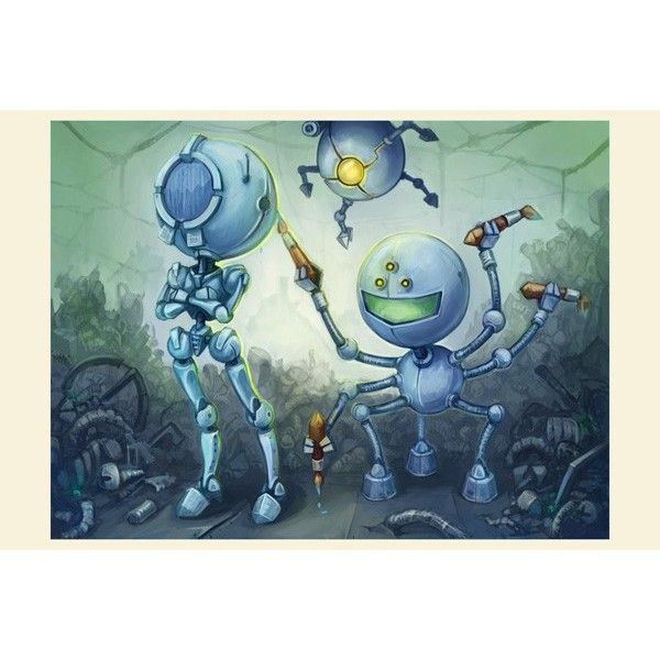 2035 - Postcards, Fantasy