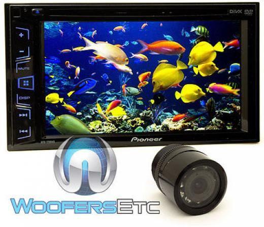 Pioneer AVH 290BT 6 2 Touch Screen DVD MP3 CD Media Player w Installation Kit