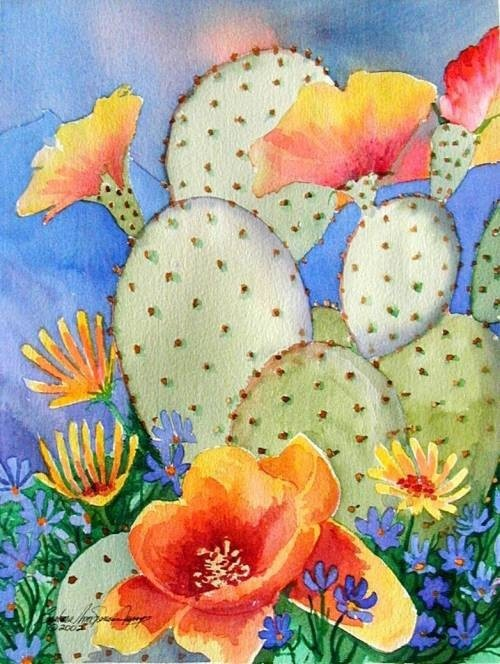 Artist Barbara Ann Spencer Jump